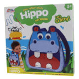 Make Your Own Felt Hippo Backpack Kit