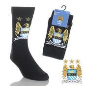 Manchester City Design Mens Socks