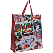 Christmas Elf Design Reusable Shopping Bag