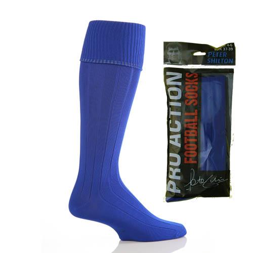 Royal Blue Football Socks size 4-6