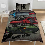 Thunderbirds Are Go IR Vehicles Reversible Duvet Single
