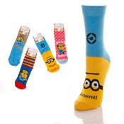 Despicable Me Minions Childrens Socks