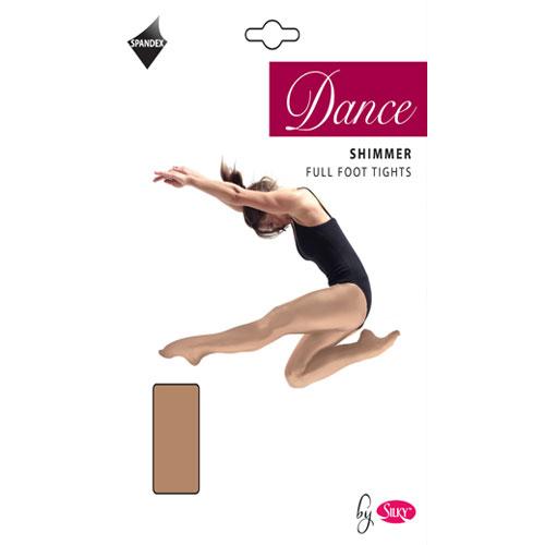 Dance Tights Shimmer Foot