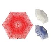 Drizzles Heart Design Umbrella