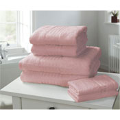 Windsor Egyptian Combed Cotton Hand Towel Pink