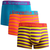 Mens Cavailia Hipster Stretch Boxers Striped