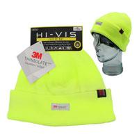 Heat Machine Hi Vis Thinsulate Fleece Cuff Beanie Hat