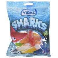 Jelly Sharks Sweets 100g Bag