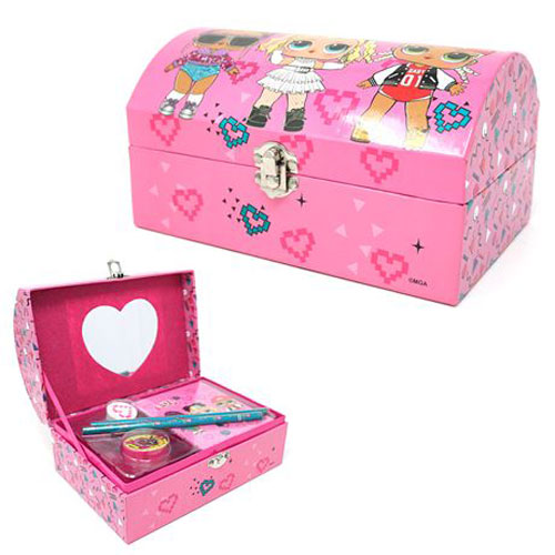Official LOL Stationary Set With Mirror Chest