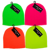 Kids Neon Fashion Hat