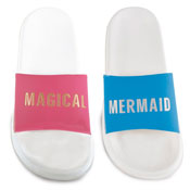 Ladies Mermaid And Magical Pool Slides