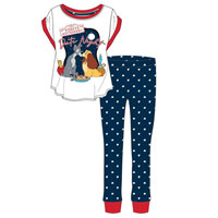 Ladies Official Lady And The Tramp Date Night Pyjamas