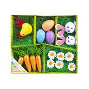 16 Piece Easter Bonnet Decorating Set