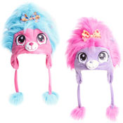 Girls Novelty Furry Bear Hat