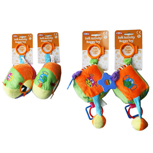 Baby Soft Buggy Activity Toy