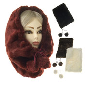 Ladies Furry Snood