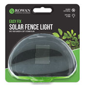 Solar Garden Fence Light