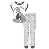 Ladies Official Lady And The Tramp Together Pyjamas