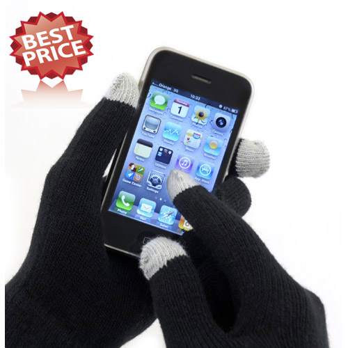 Mens Touchscreen Magic Gloves