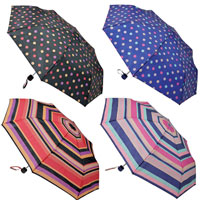 Stripes and Spots Super Mini Umbrella