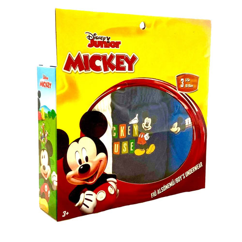 Boys Official Mickey Mouse Briefs