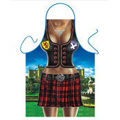 Novelty Apron Scottish Female