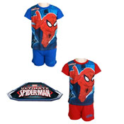 Boys Spider-Man Shortie Pyjamas Set