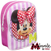 Minnie Mouse Backpack with Bow