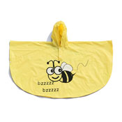 Childrens Bee Poncho Showerproof