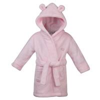 Baby Elephant Robe Pink