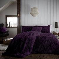 Hug And Snug Duvet Set Purple
