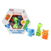 3 Piece Animal Jigsaw Set