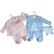 Baby 'Baby' Tshirt, Jacket and Trousers Set