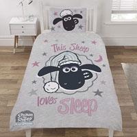 Official Shaun The Sheep Reversible Duvet Set
