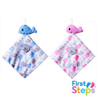 First Steps Baby Comforter with Sherpa