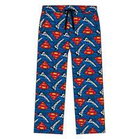 Mens Official Superman Lounge Pants