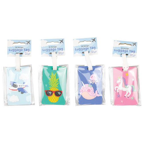 Kids 3D Luggage Tags