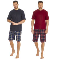 Mens Jersey T Shirt And Woven Shorts Set