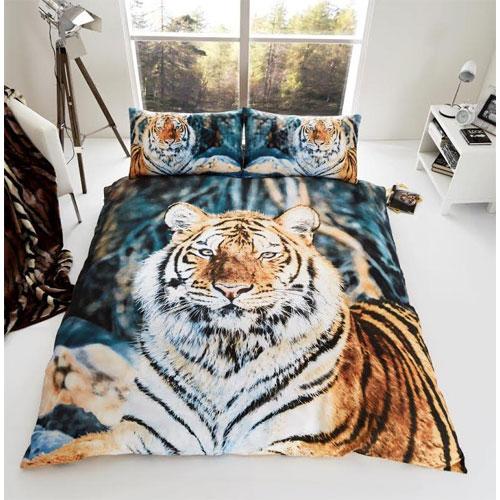3D Tiger Duvet Set