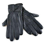 Ladies Leather Gloves Black