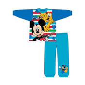 Boys Toddler Mickey Mouse Pluto Snuggle Fit Pyjama