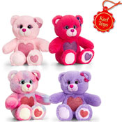 Glitter Gems Bear With Heart 16CM