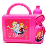 Disney Frozen Hard Lunch Box and Bottle Set