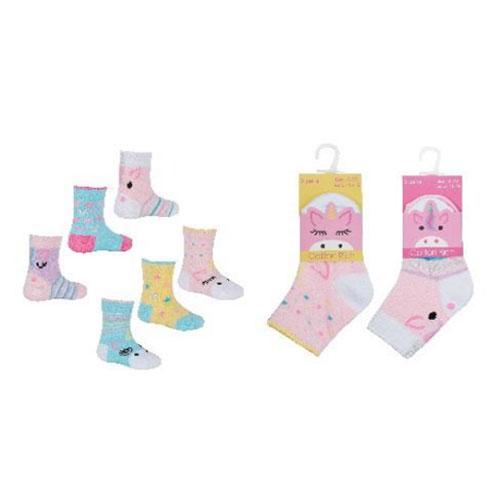 Baby Girls Novelty Unicorn Socks