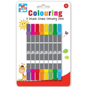 8 Double Ended Markers