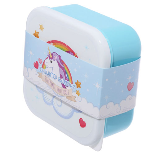Stacking Lunch Boxes Unicorn