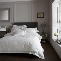 Devore Hotel Collection Duvet Set Charcoal