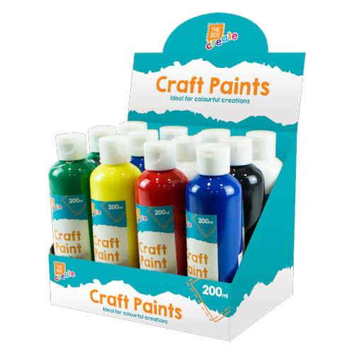 Craft Paint Bottle 200ml