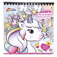 Unicorn Colour And Stick Fun Album