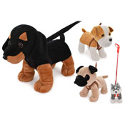Dogs On Lead Toy